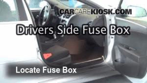 Interior Fuse Box Location: 20082012 Chevrolet Malibu