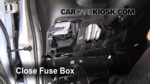 Interior Fuse Box Location: 20092013 Honda Fit  2010 Honda Fit Sport 15L 4 Cyl