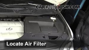 Air Filter HowTo: 20102015 Lexus RX450h  2010 Lexus