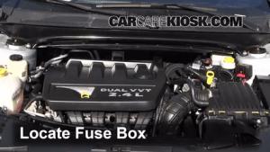 Interior Fuse Box Location: 20082014 Dodge Avenger  2010