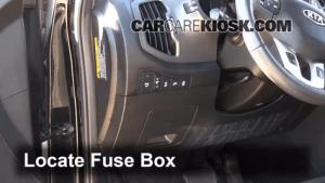 Interior Fuse Box Location: 20112016 Kia Sportage  2012