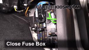 Interior Fuse Box Location: 20092014 Ford F150  2013 Ford F150 XLT 37L V6 FlexFuel Standard
