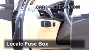Interior Fuse Box Location: 20132014 Ford Fusion  2013
