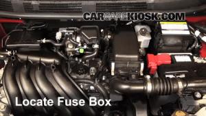 Blown Fuse Check 20122016 Nissan Versa  2013 Nissan