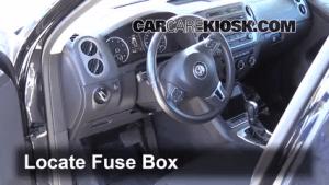 Interior Fuse Box Location: 20092014 Volkswagen Tiguan