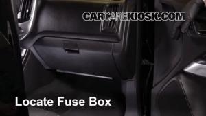 Interior Fuse Box Location: 20042012 Chevrolet Colorado