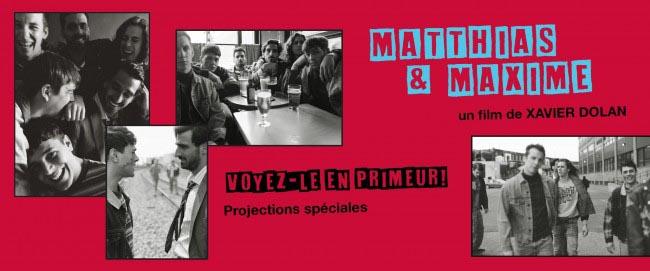 Imago: Avant-Première «Matthias & Maxime»