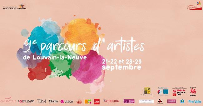 9ème parcours d'artistes de Louvain-le-Neuve