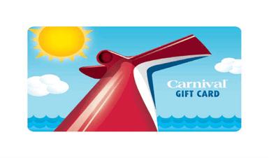 Carnival Gift Card Program Carnival Cruise Lines