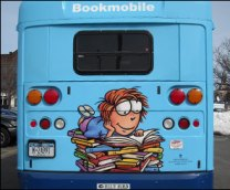 Back of Bookmobile