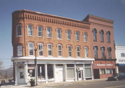 Former Brown's Pharmacy Building Hanover Square Horseheads, NY