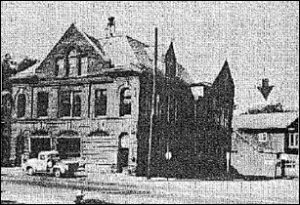 Horseheads Library's second home:  John Street Fire Hall's second floor 1949-1961