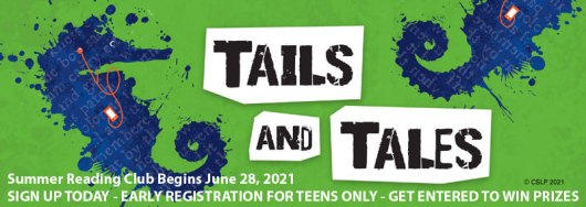 Early Summer Reading Club Registration for Teens Only - Log minutes starting June 28th.