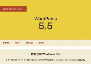 wordpess5.5