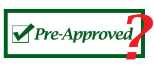 what does it mean in a Chicago real estate deal that a loan is preapproved