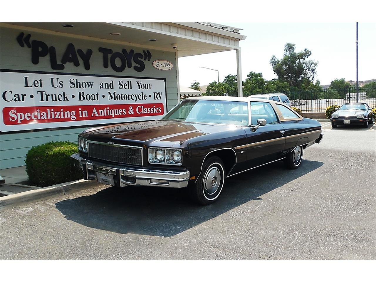 1975 Chevrolet Caprice for Sale   ClassicCars com   CC 1132054 Large Picture of  75 Chevrolet Caprice located in Redlands California  Offered by Play Toys Classic