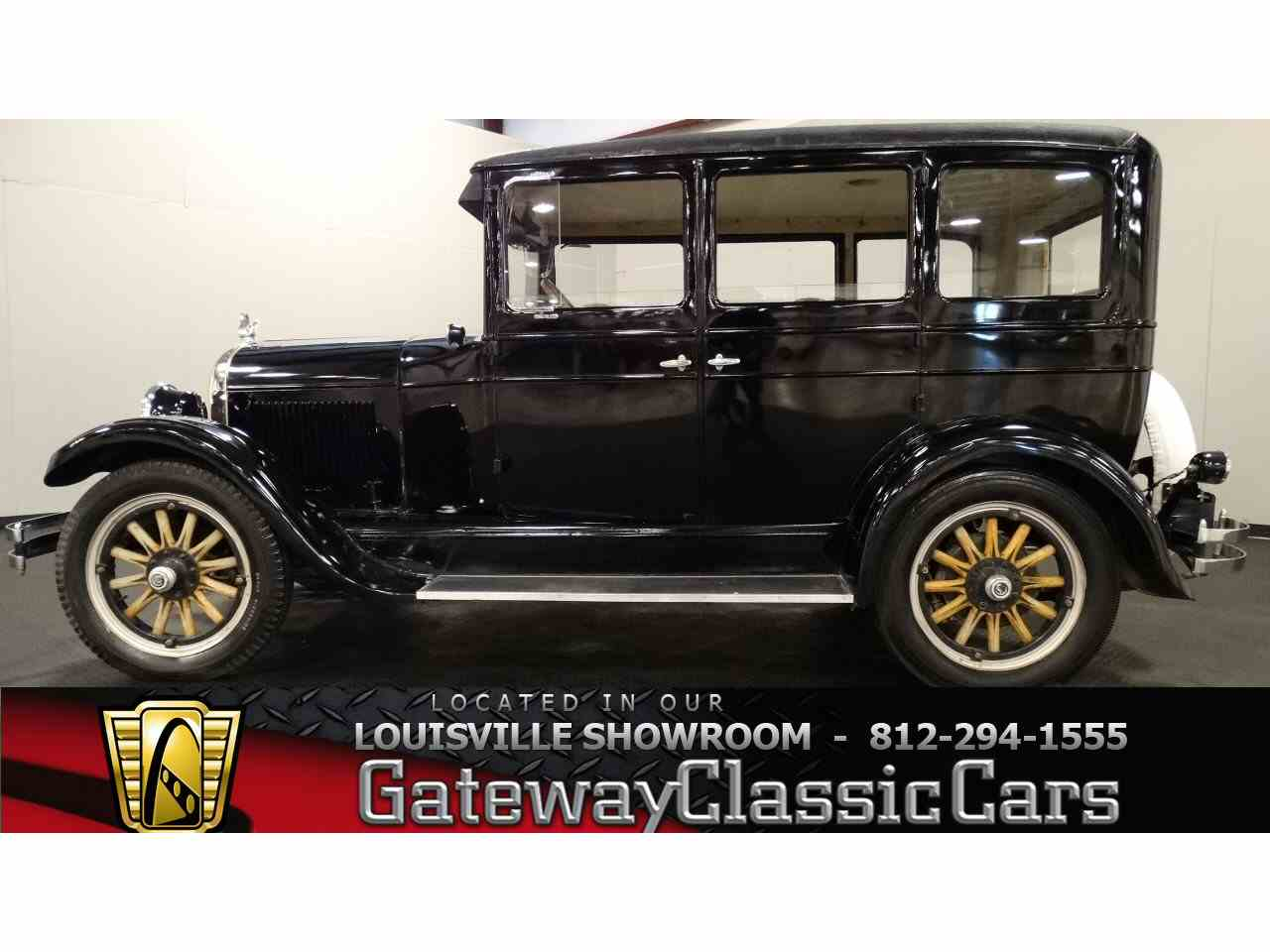 1926 Chrysler Sedan for Sale   ClassicCars com   CC 732435 Large Picture of  26 Sedan   FP5F