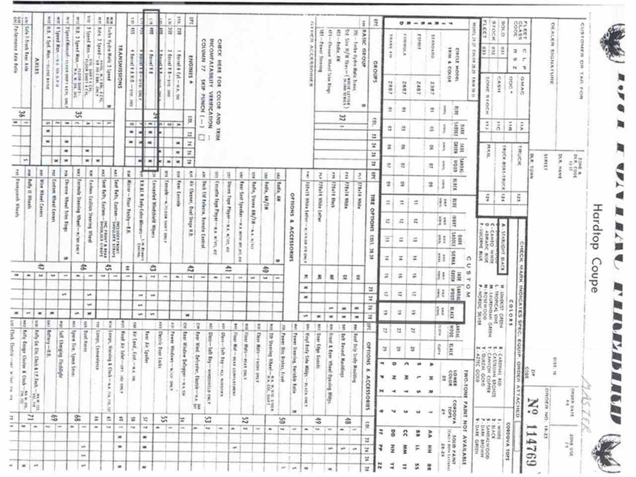 wiring diagram database  pontiac firebird formula for sale