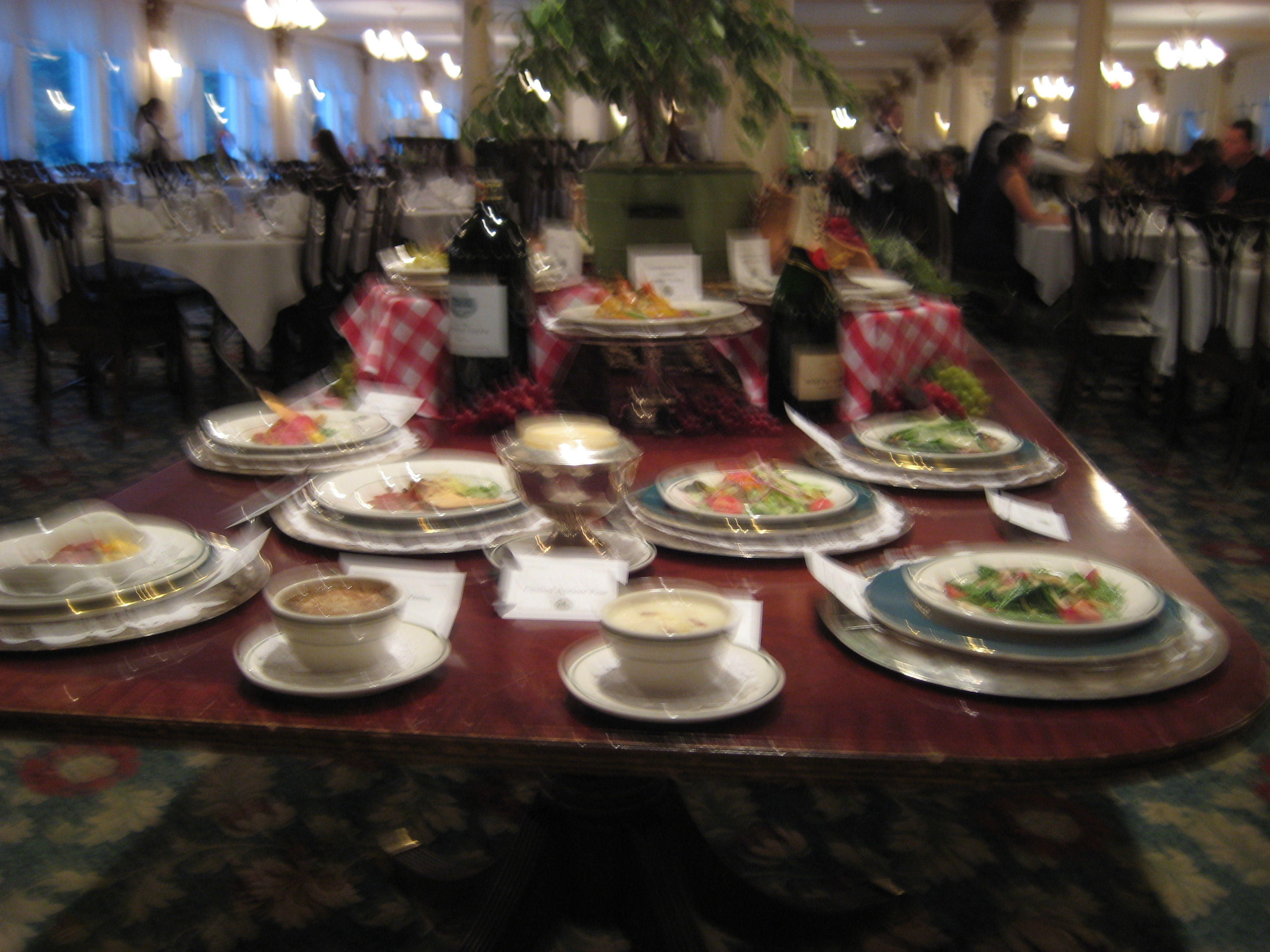 Dining at the Balsams is a food-lover's delight!