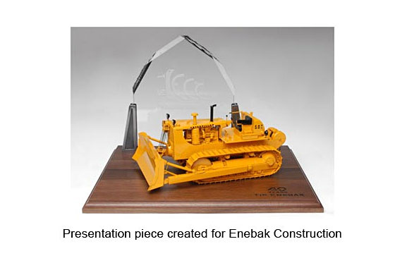 Custom Enebak Construction Piece