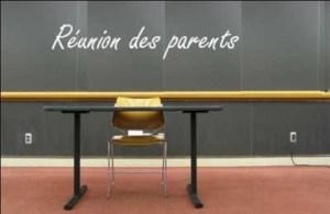 Réunion de parents P1 et P2