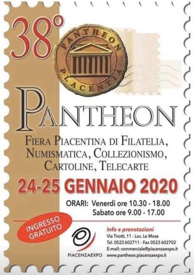 PIACENZA 38° PANTHEON PLACENTIA