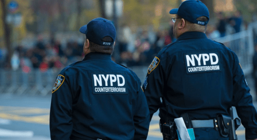 NYPD Counter Terrorism Officers
