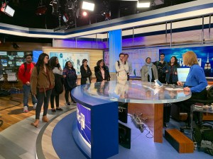 Television/Video Journalism Class visits SpectrumNews NY1