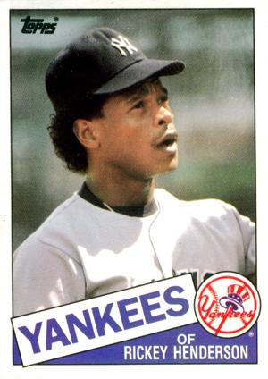 1985 Topps Traded Baseball Checklist Set Info Key Cards