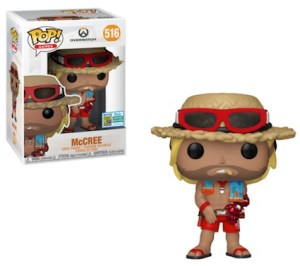 POP GAMES OVERWATCH McCREE Summer  SDCC 2019 VF 516