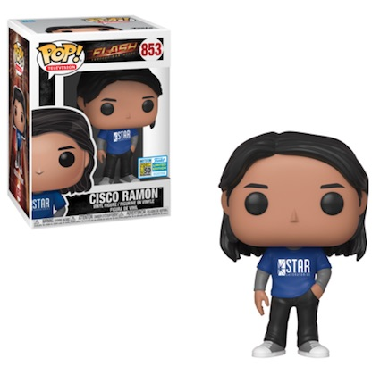 POP DC FLASH TV CISCO RAMON SDCC 2019 VF 853