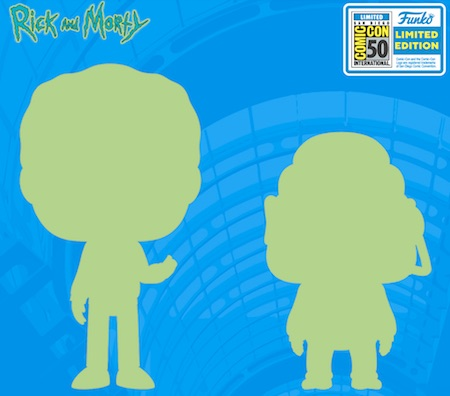 POP ANIMATION RICK AND MORTY - GLOOTIE SDCC 2019 VF