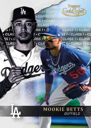 2020 Topps Gold Label Baseball Cards 1