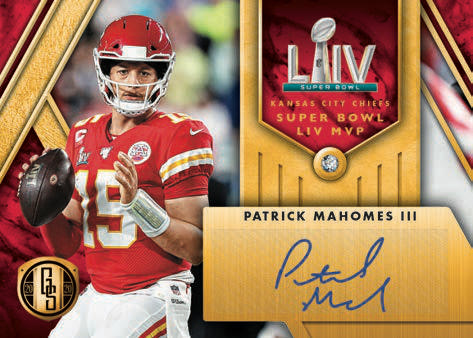 2020 Panini Gold Standard Football Cards - Checklist Added 6
