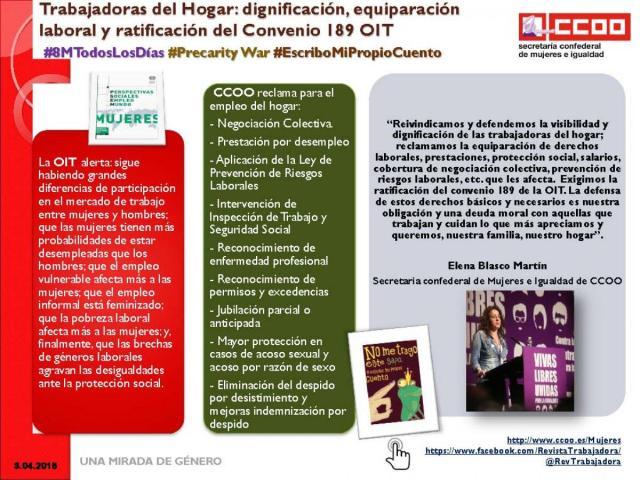 Trabajadoras del hogar y el Convenio 189 de la OIT