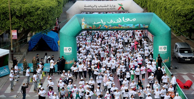 Read more about the article Thousands of women at Victory Race in Rabat