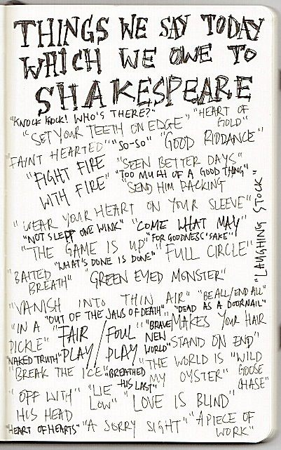 Weowetoshakespearewords
