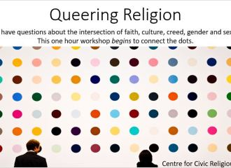 """. """"Queering Religion."""" You-Are-Not-Alone (YANA) Conference"""
