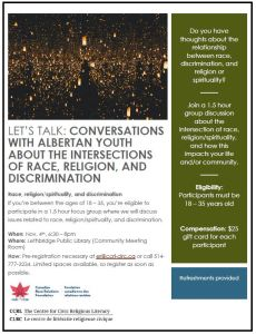 """Let's Talk"": Conversations with Albertan youth"
