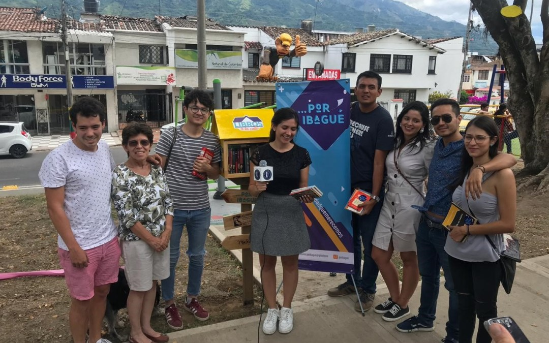 Doctoral Student Launches Street Library in Colombia