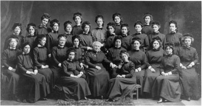 The Presbyterian Class of 1912.