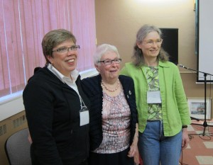 3 Companions of the Centre: Kathy Toivanen, Jessie MacLeod, and Caryn Douglas