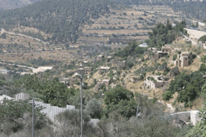 Lifta - a destroyed Palestinian village