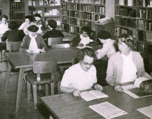 UCTS library 1955
