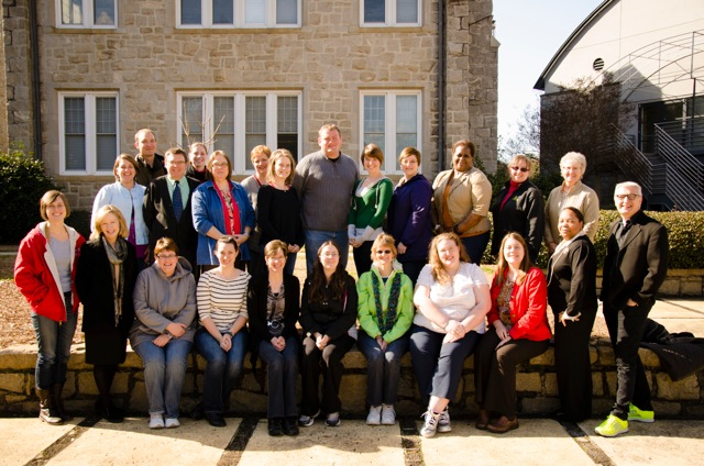 participants in the Lutheran diaconal ministry course in South Carolina
