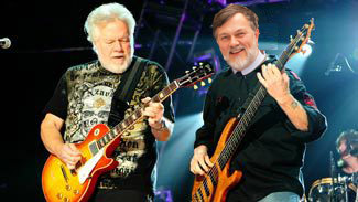 a thoroughly fake picture of Randy Bachman and Eric Tusz-King