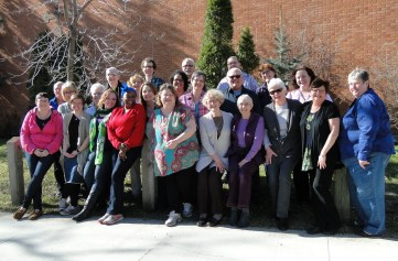 """Pastoral Care Year students with """"seasoned"""" diaconal ministers"""