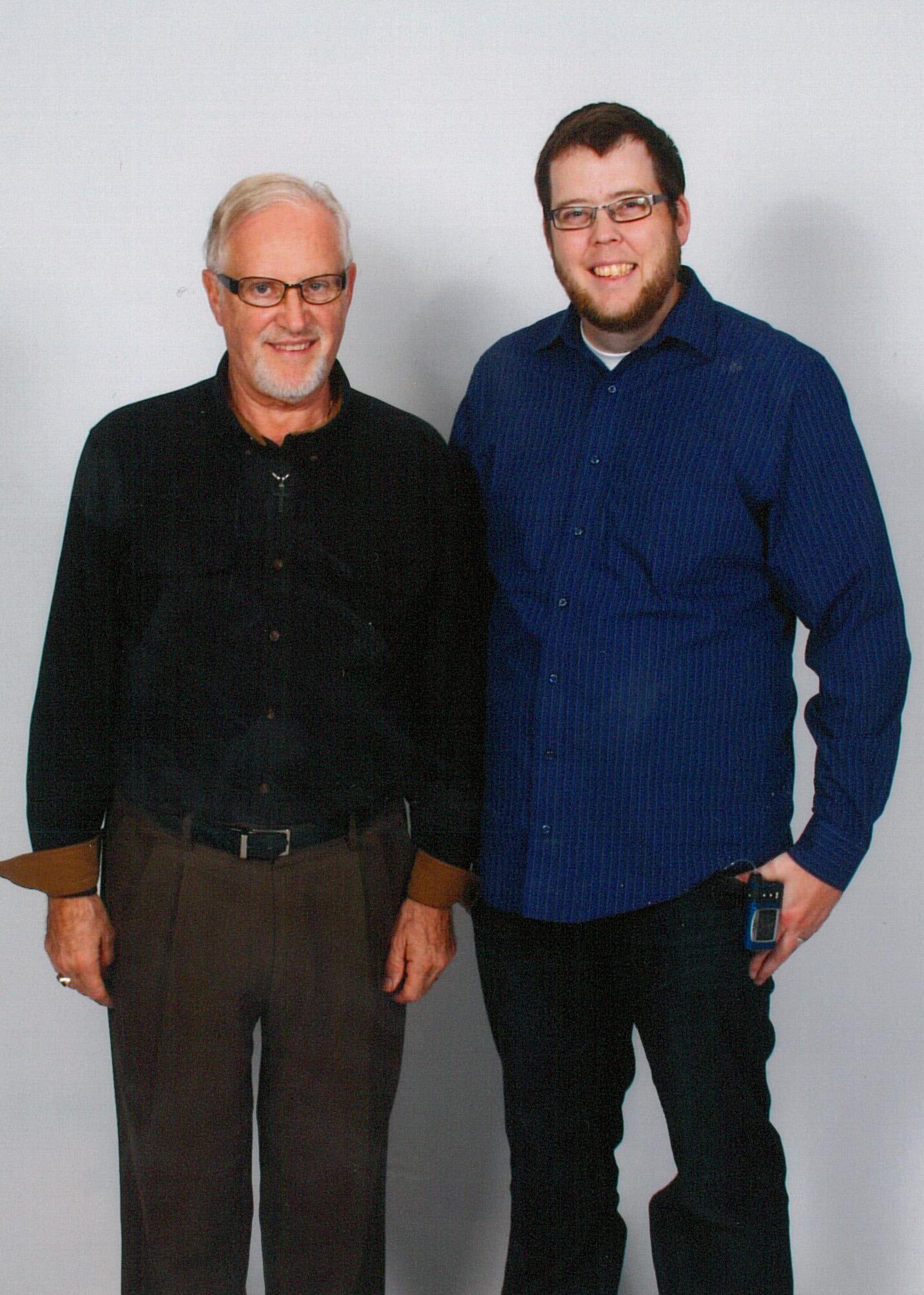 2015 CCS graduates Jim Hatt and Mark Laird