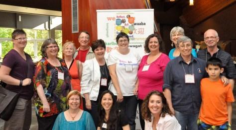 Diaconal folks at BC Conference