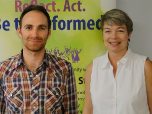 New staff - David Lappano and Janet Ross